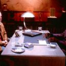Bruce Willis and Samuel L. Jackson in Touchstone's Unbreakable - 2000