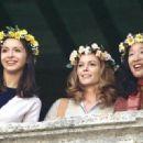 Chiara (Giulia Steigerwalt), Frances (Diane Lane) and Patti (Sandra Oh)