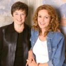 Frances Mayes and Diane Lane