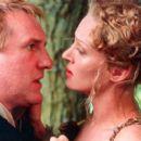 Gerard Depardieu and Uma Thurman in Miramax's Vatel - 2000