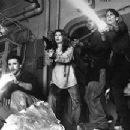 William Baldwin, Joanna Pacula, Cliff Curtis and Jamie Lee Curtis in Universal's Virus - 1999