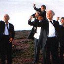 David Kelly, James Ryland, Robert Hickey, Ian Bannen and Matthew Devitt in Waking Ned Devine