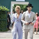 Leona Lewis and Dennis Jauch – Wimbledon Tennis Championships 2019 in London