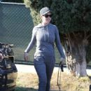 Katy Perry with her dog – Out in Los Angeles