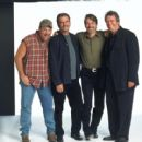 Renowned comedians Larry The Cable Guy, Bill Engvall, Jeff Foxworthy and Ron White star in the feature film version of the hit comedy tour 'Blue Collar Comedy Tour:The Movie,' a Warner Bros. Pictures release. - 454 x 410