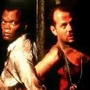 Samuel L. Jackson as Zeus and Bruce Willis as John McClane in 20th Century Fox's Die Hard With A Vengeance - 1995