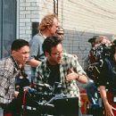Director Don McKellar behind the scenes of Last Night - 11/99