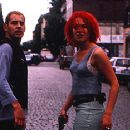 Moritz Bleibtreu and Franka Potente in Run Lola Run