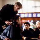 Leonard Marliston (Jay Mohr) disciplines a student in USA Films' Cherry Falls - 2000