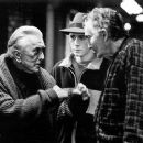 Kirk Douglas, Corbin Allred and Val Bisoglio in Miramax's Diamonds - 2000