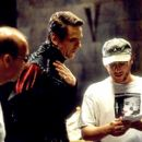 Jeremy Irons and director Courtney Solomon in New Line's Dungeons and Dragons - 2000 - 400 x 267