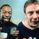 Shaun Parkes and John Simm in Miramax's Human Traffic - 2000