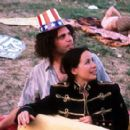 Vincent D'Onofrio as Abbie Hoffman and Janeane Garofalo as Anita Hoffman in Lions Gate's Steal This Movie! - 2000