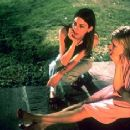 Director Sofia Coppola and Kirsten Dunst on the set of Paramount Classics' The Virgin Suicides - 2000