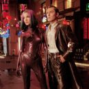 Ashley Scott and Jude Law in Warner Brothers' A.I.: Artificial Intelligence - 2001