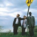 Hippolyte Girardot, Natalia Verbeke and Tunde Adebimpe in IFC Films' Jump Tomorrow - 2001 - 400 x 259