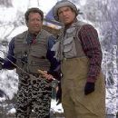 Garry Shandling and Warren Beatty in New Line's Town and Country - 2001