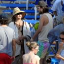 Kate Hudson in Bikini at the beach in Skiathos