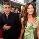 George Clooney and Lisa Snowden - 454 x 382