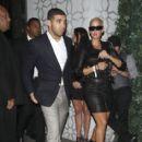 Amber Rose and Drake Leaving Voyeur Nightclub in Philadelphia, Pennsylvania - September 11, 2010 - 396 x 594