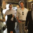 Kate Winslet and her husband Ned Rocknroll out in Venice - 454 x 657