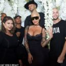 Amber Rose attends the Kat Von D Beauty Fragrance Launch Press Party #SAINTANDSINNER at Hollywood Roosevelt Hotel in Hollywood, California - June 20, 2017 - 454 x 289