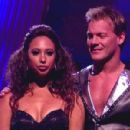 Cheryl Burke and Chris Jericho