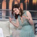 Alexandra Daddario – Good Day New York Fox 5 in New York - 454 x 681