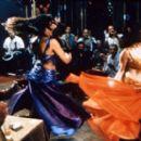 Monia Hichri as Folla and Hiam Abbass as Lilia in Zeitgeist's Satin Rouge - 2002