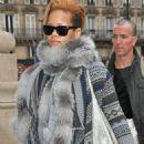 Rihanna - Seen Leaving Paris To Reach London By Eurostar, For Her Secret Gig, 2009-11-12