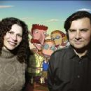 Creator-producer Arlene Klasky and Gabor Csupo in Paramount's The Wild Thornberrys Movie - 2002