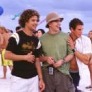 Justin (Justin Guarini), Eddie (Brian Dietzen) and Brandon (Greg Siff) take in the wonders on Spring Break in Miami Beach .