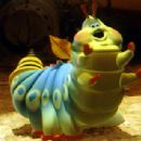Heimlich is voiced by Joe Ranft in Walt Disney's A Bug's Life - 1998