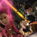 a scene from Dimension Films' adventure, The Adventures of Shark Boy & Lava Girl in 3-D, starring Taylor Dooley and directed by Robert Rodriguez.