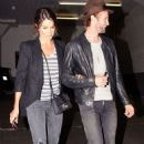 Nikki Reed and Paul McDonald arriving at Hotel Cafe (June 10)