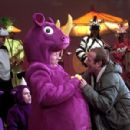 Edward Norton and Robin Williams in Warner Brothers' Death To Smoochy - 2002