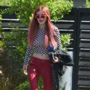 Bella Thorne – Seen Out in Los Angeles - 454 x 727