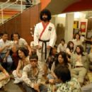 "Actors await their call at the audition of the Bruce Lee film Game of Death in a scene from the Justin Lin film ""FINISHING THE GAME."" (Mousa Kraish standing). Photo by Hosanna Wong/Trailing Johnson. An IFC First Take release"