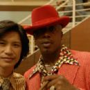 Fledgling 70's action star Troy Poon played by Dustin Nguyen teams up with his manager Roy Thunder played by MC Hammer in a scene from Justin Lin's FINISHING THE GAME. Photo by Hosanna Wong/Trailing Johnson. An IFC First Take release.