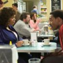 Shelia (Jill Scott) and Troy (Lamman Rucker) in TYLER PERRY'S WHY DID I GET MARRIED? Photo Credit: Alfeo Dixon. - 454 x 295