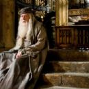 MICHAEL GAMBON as Albus Dumbledore in Warner Bros. Pictures' fantasy 'Harry Potter and the Half-Blood Prince. Photo by Jaap Buitendijk. ©2008 Warner Bros. Entertainment Inc. - Harry Potter Publishing Rights © J.K.R.