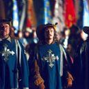 Steven Speirs, Nick Moran and Jan Gregor Kremp in Universal's The Musketeer - 2001