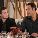 Eddie Kaye Thomas as Jeff Woodcock and Brad Garrett as Eddie Stark in comedy 'Til' Death (TV Series)'