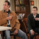 Eddie Stark (Brad Garrett) with Jeff Woodcock (Eddie Kaye Thomas) in comedy 'Til' Death (TV Series)'