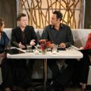 L to R: Kat Foster, Eddie Kaye Thomas, Brad Garrett and Joely Fisher in the scene of Til' Death (TV Series)