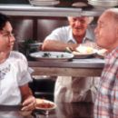 Grace Briggs (Minnie Driver), Angelo Pardipillo (Robert Loggia) and Marty O'Reilly (Carroll O'Connor) in MGM's Return To Me - 2000