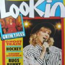 Deborah Gibson - LOOKIN Magazine Cover [United Kingdom] (13 May 1989)