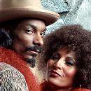 Snoop Dogg and Pam Grier in New Line's Bones - 2001