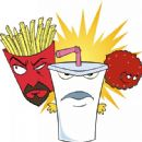 Group - Aqua Teen Hunger Force Colon Movie Film for Theaters - 2007