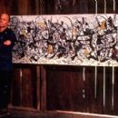 Ed Harris as Jackson Pollock in Sony Pictures Classics' Pollock - 2000